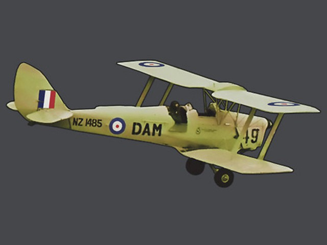 The Dehaviland Tiger Moth