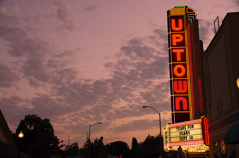 The Uptown Theatre in Napa